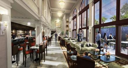 Truax Hotel Lobby Rendering