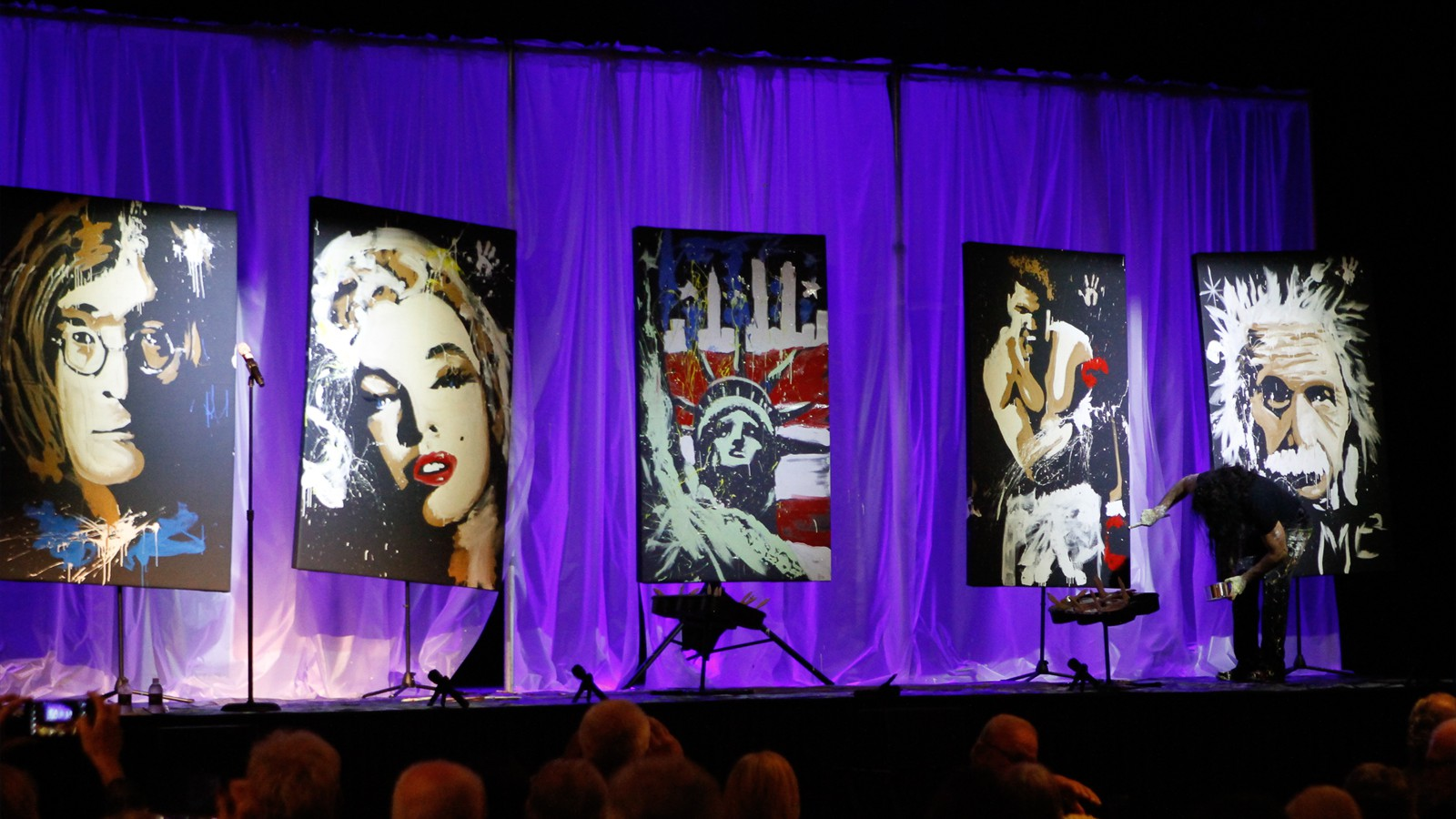 1st Annual Theater Foundation Arts Gala - Michael Isreal