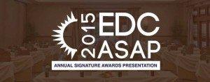 2015 EDC ASAP Annual Signature Awards Presentaion