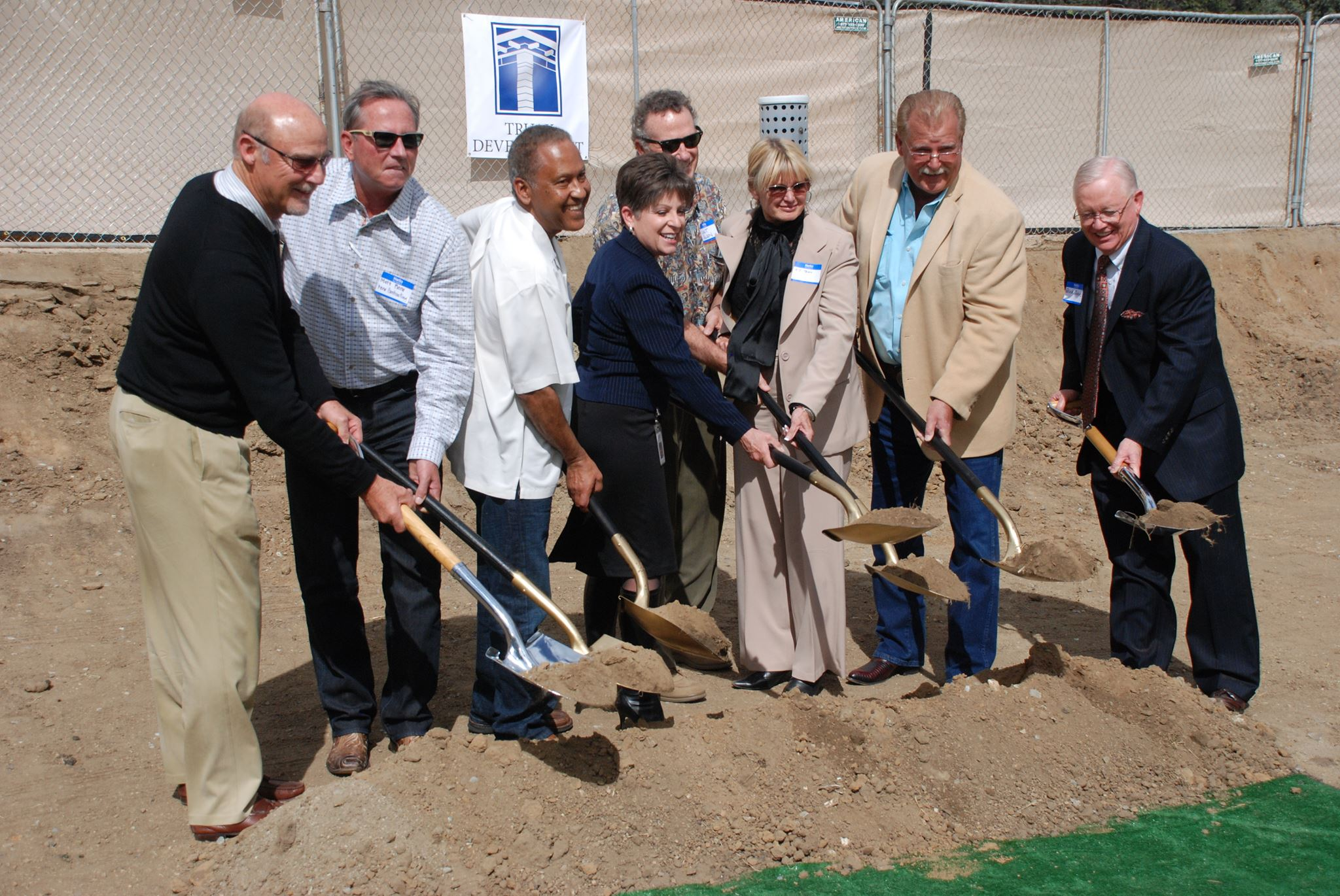 Groundbreaking Truax Building 2014